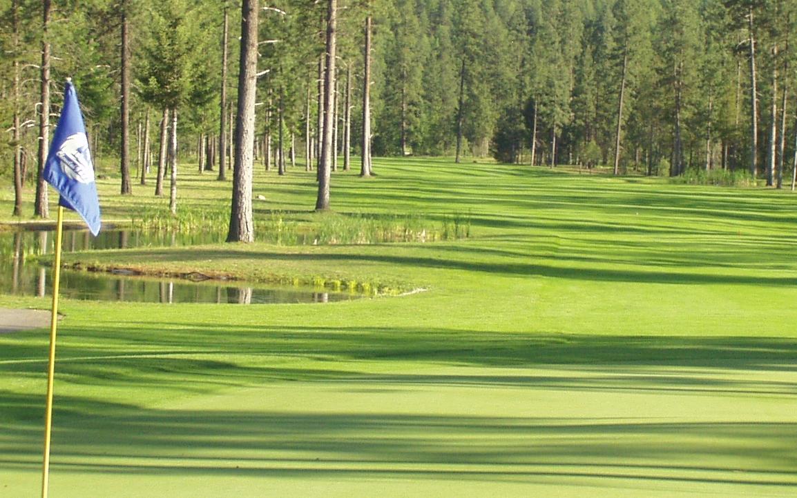 13th hole - 18 hole course